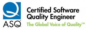 Certified Software Quality Engineer